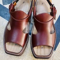 Panjadar Peshawari Chappal - Pure Leather - Handmade