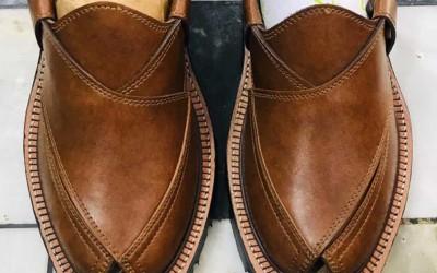 Traditional Footwear of Peshawar, Pakistan
